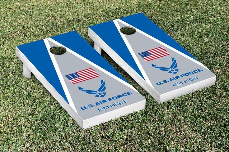 United states Air force Cornhole Boards Corn hole game