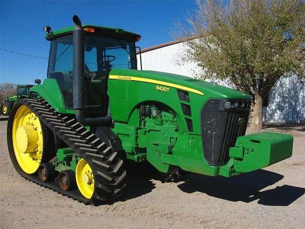 J & S  Tractor Sales - John Deere 8430T