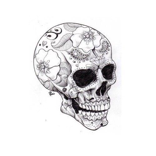 Small Skull Tattoo On Foot Random Love Pinterest