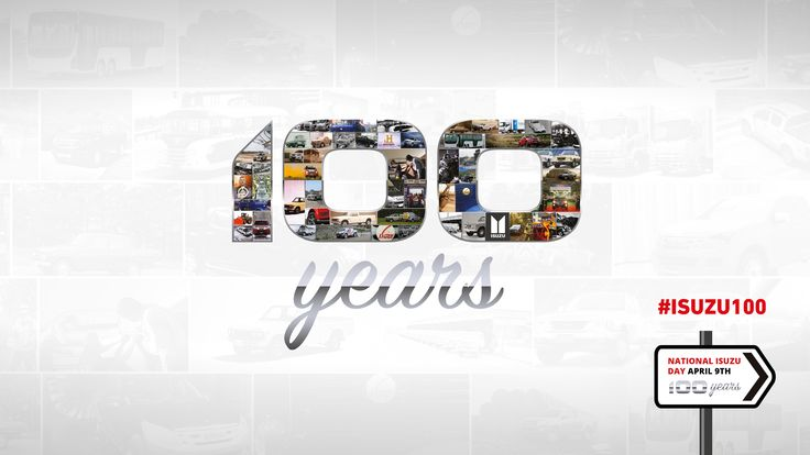 This year we celebrate 100 years of  being pick-up professionals. Join in the festivities on April 9th 2016 for National Isuzu Day! #Isuzu #IsuzuUK #SPEAKISUZU #driving #automotive #pickup #pickuptruck #truck #agriculture #farming #centenary #celebration #100years #birthday