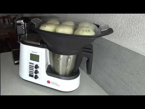 monsieur cuisine plus lidl silvercrest présentation test avis notice forum unboxing skmk 1200 - YouTube