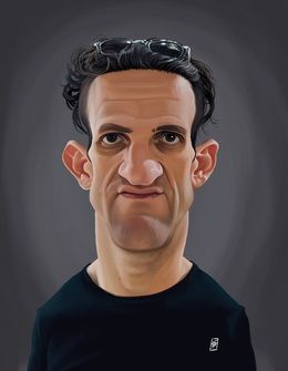 Casey Niestat by robart at zippi.co.uk art | decor | wall art | inspiration | caricature | home decor | idea | humor | gifts