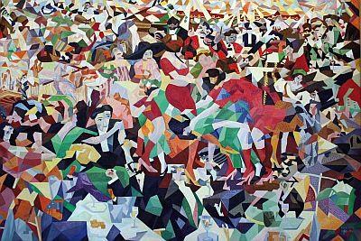Gino Severini - La danse du Pan Pan au Monico