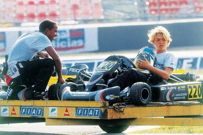 Lewis Hamilton e Nico Rosberg