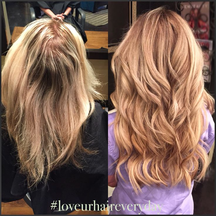 32 best hair extensions before afters images on pinterest before and after long hair blonde hair extensions natural beaded rows pmusecretfo Image collections