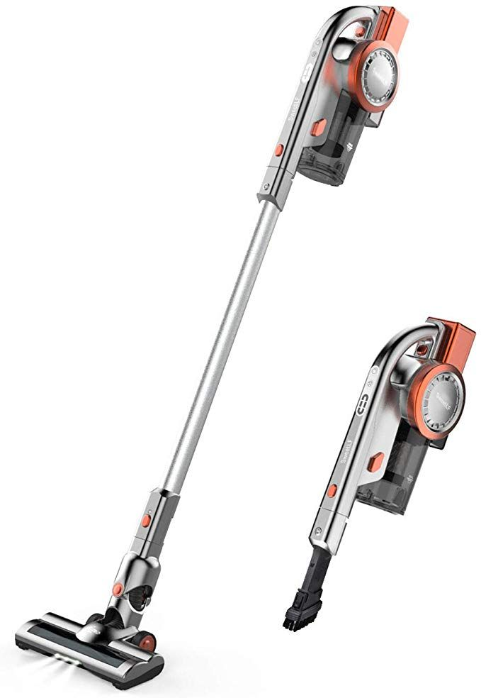 Cordless Vacuum Cleaner 2 In 1 Stick And Handheld Vacuum Cleaner Lightweight Bagless Vacuum With 10kpa Cordless Vacuum Handheld Vacuum Handheld Vacuum Cleaner