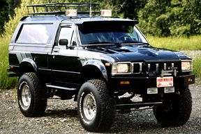 1983 Limited Edition Trailblazer With Modified 22R Supercharged Engine