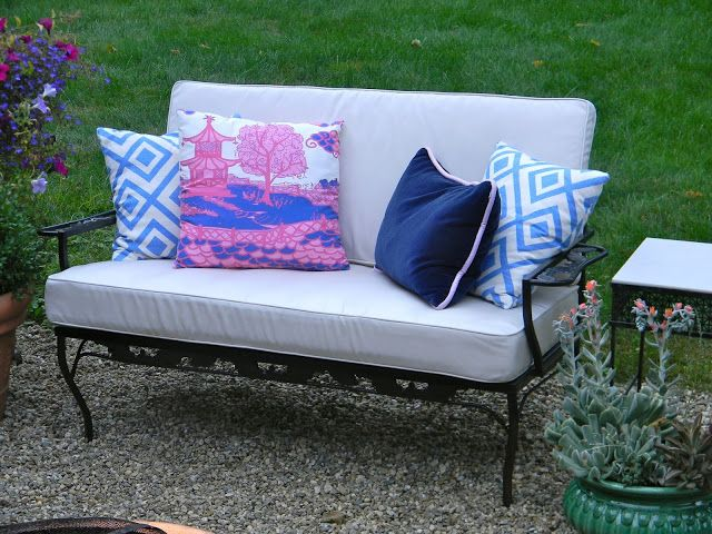 How To Restore Mid Century Wrought Iron Patio Furniture