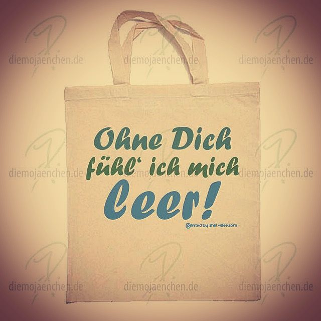 http://diemojaenchen.de/produkt/ohne-dich-beutel/ Sag's doch mal mit einem Beutel… #alleine #leer #best #friends #friendship #freundschaft #freunde #beutel #bag #umweltschutz #umweltfreundlich auch für #kaffee #schnitzel #veganes #toys  geeignet... ;-)