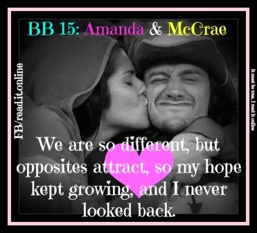 Amanda & McCrae - Go like IT MUST BE TRUE, I READ IT ONLINE - www.facebook.com/read.it.online