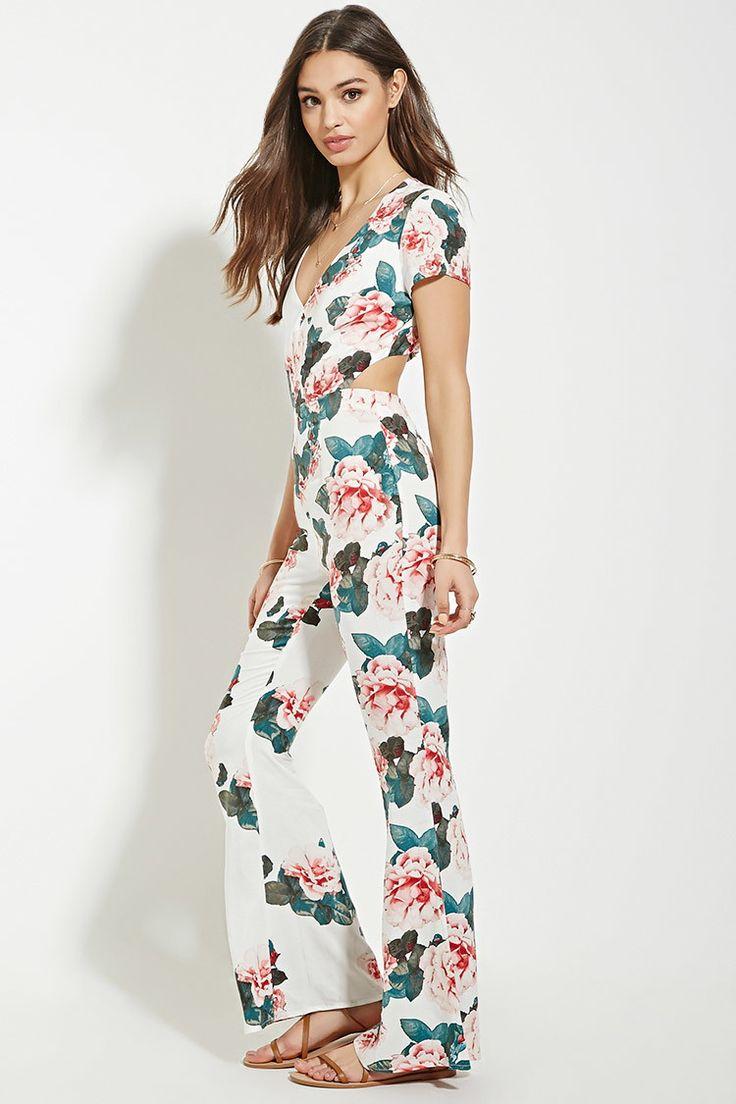17 Best ideas about Floral Jumpsuit on Pinterest | Jumpsuit outfit ...