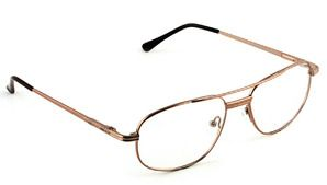 BROOKLYN DRFMY5372 - Full metal #frame with double bridge and spring hinges