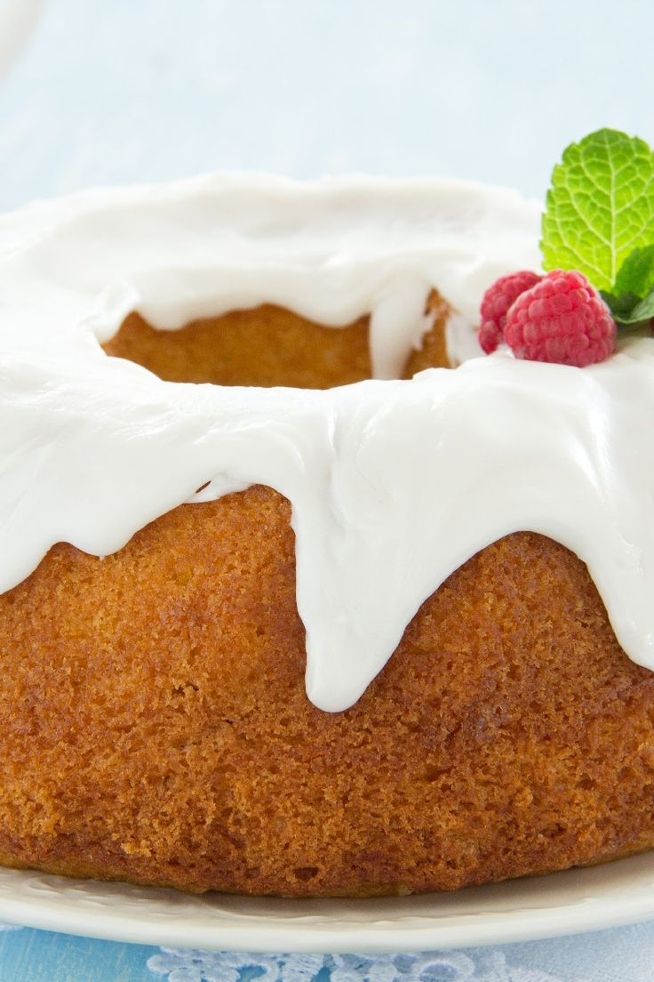 Cream Cheese Pound Cake Dessert Recipe