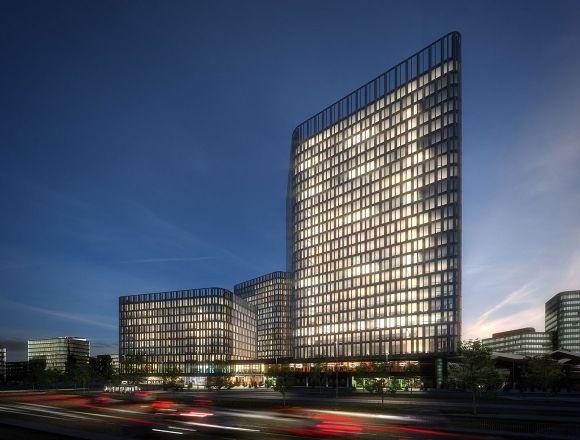 """JSWD Architekten - Hochhaus-Ensemble """"The Icon Vienna"""""""