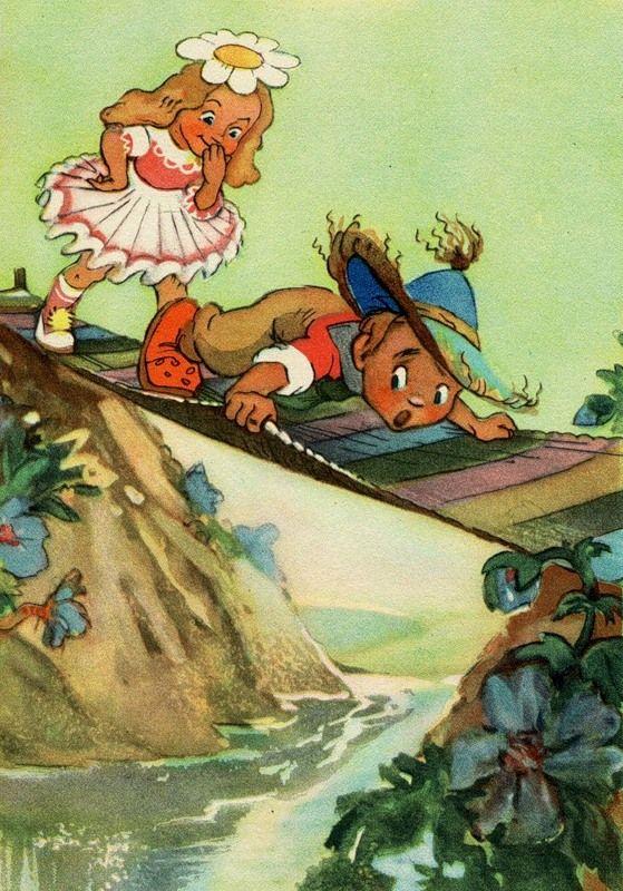 Открытки из сказок советский, картинки