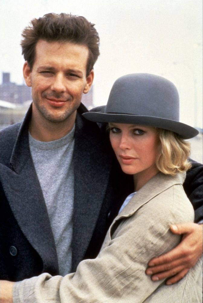 Mickey Rourke and Kim Basinger in Nine 1/2 Weeks (1986) I keep trying to tell younger people about pre 90's Mickey Rourke but they just can't fathom it.