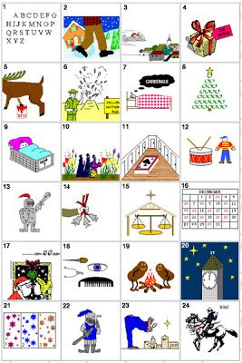 See how many Christmas carols or songs you can guess from the visual clues below. Descrip ...