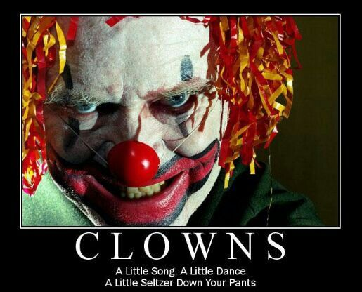 17 Best Images About CLOWNS WILL EAT YOU On Pinterest