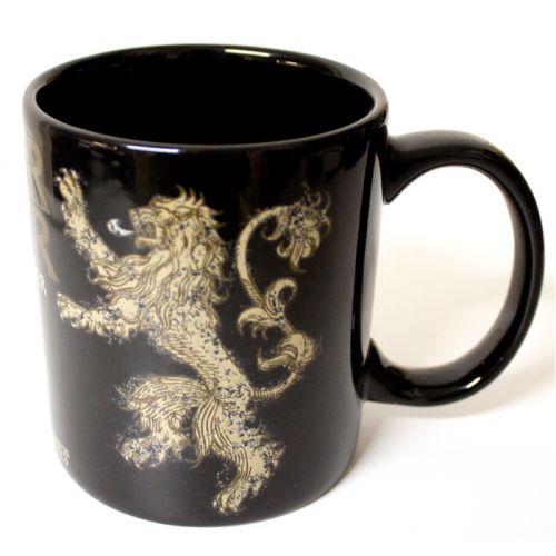 Game of Thrones Hear Me Roar Lannister Mug on Yellow Octopus #giftsformen #gifts #gameofthrones #hear #roar #mug #coffee #tea