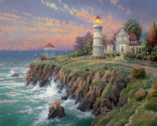 Thomas Kinkade Dies   Painter Of Light