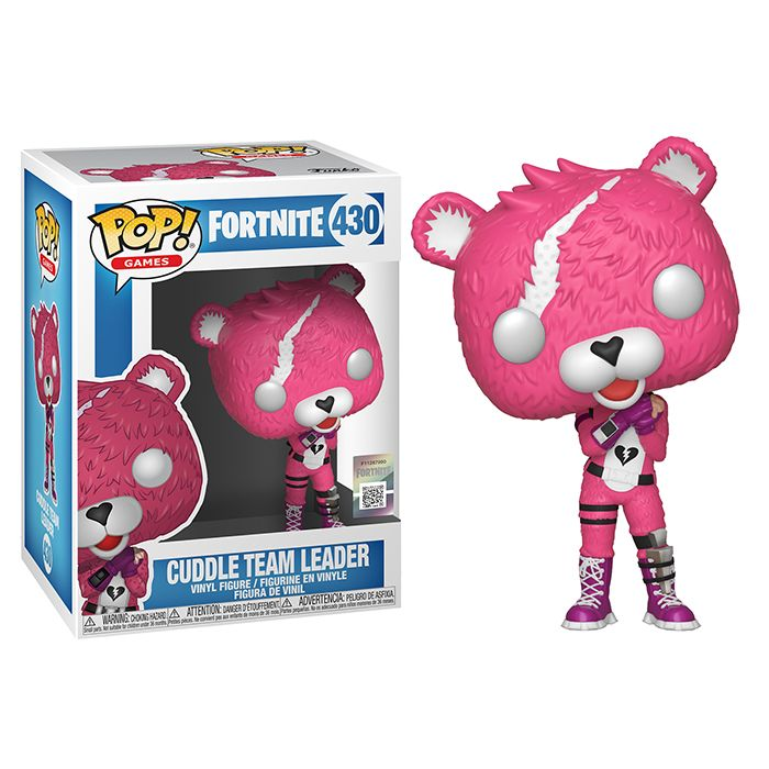 Funko Pop Vinyl FORTNITE Figure CUDDLE LEADER Character Ps4 Xbox PC Gaming Toy