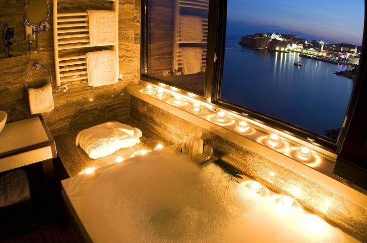 Bathtub of my effing dreams!  Excelsior Suite at the Excelsior Hotel Dubrovnik, Croatia