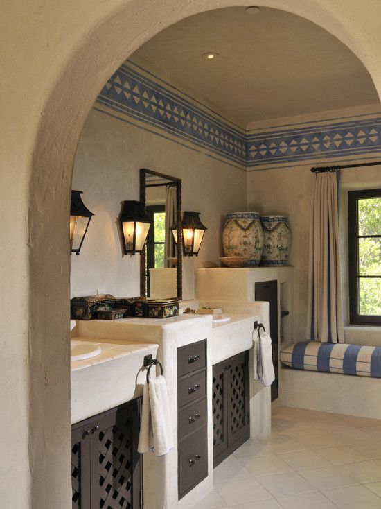 I Love These Built In Cabinets I Also Really Like The Stucco Adobe Earth Material Look And Feel