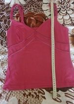 Elegantní růžové tílko na tělo