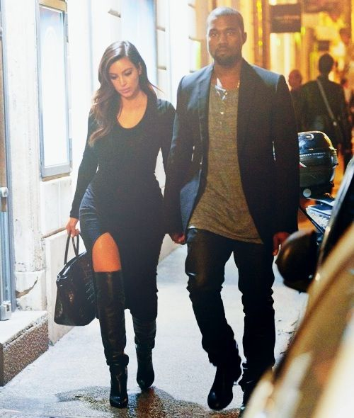 This amazing couple both seriously are everything to me in fashion, I simply Love everything and yes I'd wear Kanye's outfit. I don't mind wearing men's clothes. Aslong as it looks good on me I'm good.
