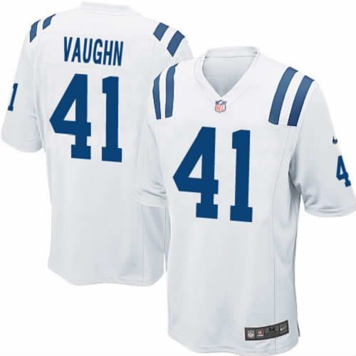 cassius vaughn jersey nike indianapolis colts 41 men game jersey white nfl jersey .