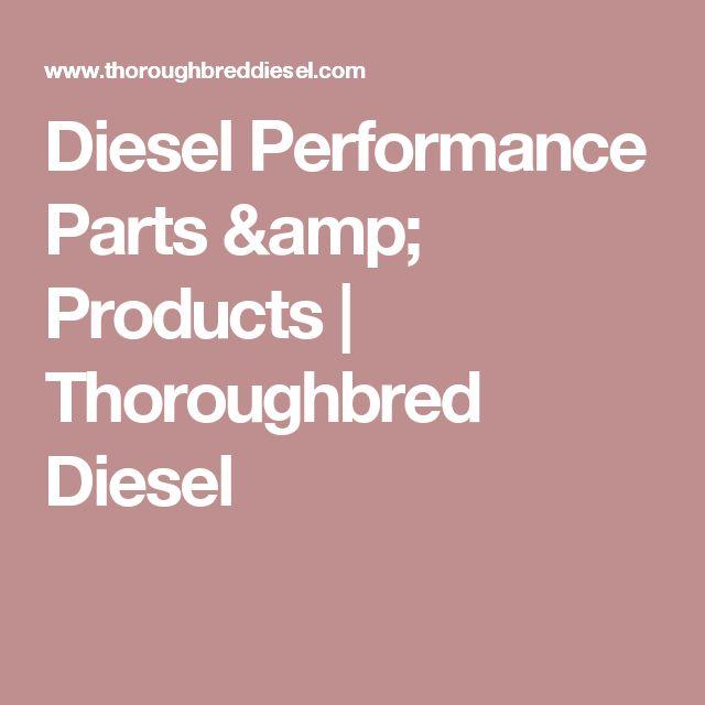 Diesel Performance Parts & Products | Thoroughbred Diesel