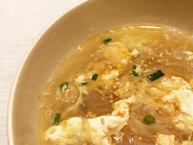 中華しらたきスープ★の画像