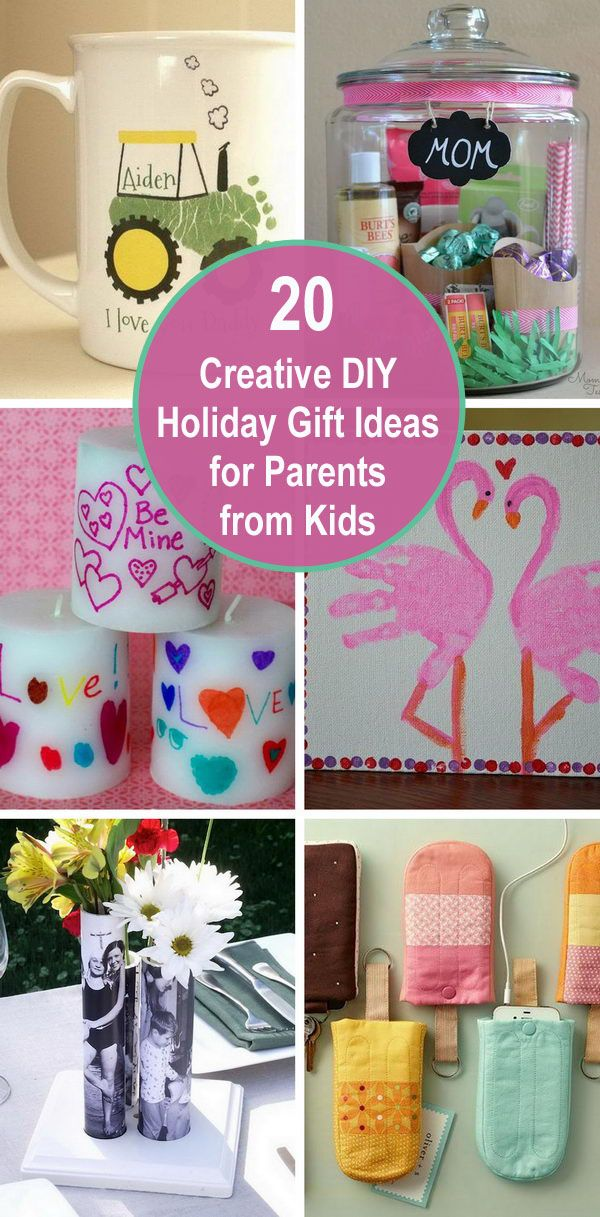 Creative DIY Holiday Gift Ideas for Parents from Kids