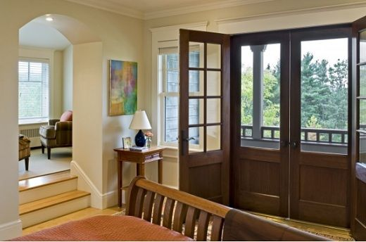 Old world exterior screen doors wooden screen doors for for Double sliding screen door