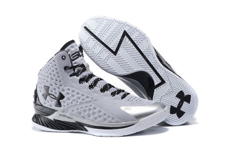 under armour basketball shoes stephen curry white. men\u0027s under armour stephen curry one grey black basketball shoes | pinterest shoes, and armours white n