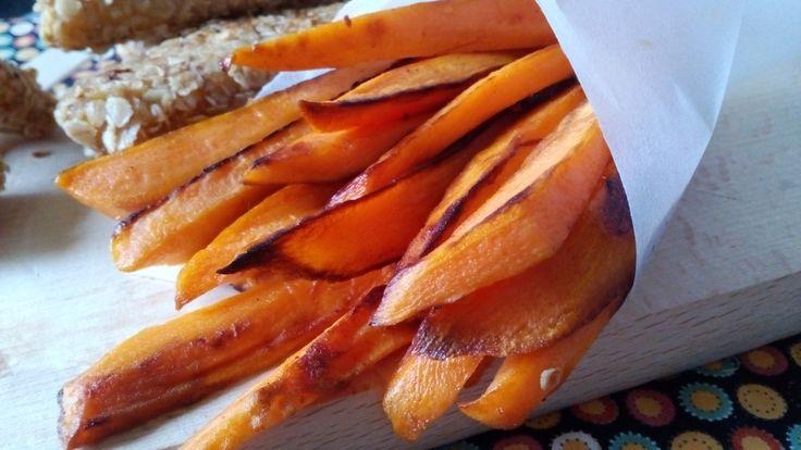 Sült édesburgonya elkészítése, egyszerű édesburgonya recept, diétás köret krumpli helyett fogyókúrázóknak, IR diétázóknak, cukorbetegeknek! >>>