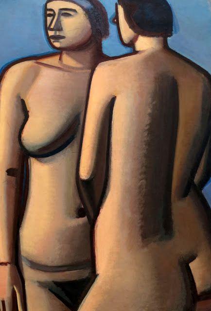 Vilhelm Lundstrøm | Two Female Nudes, 1927