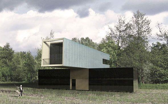 Overlapped country house_design: {Logica:architettura}