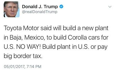 Donald Trump kinda threatens Toyota company on Twitter Toyota responds!