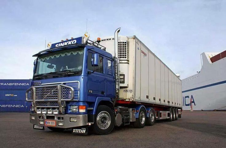 VOLVO F16 looking better than most trucks on the road today