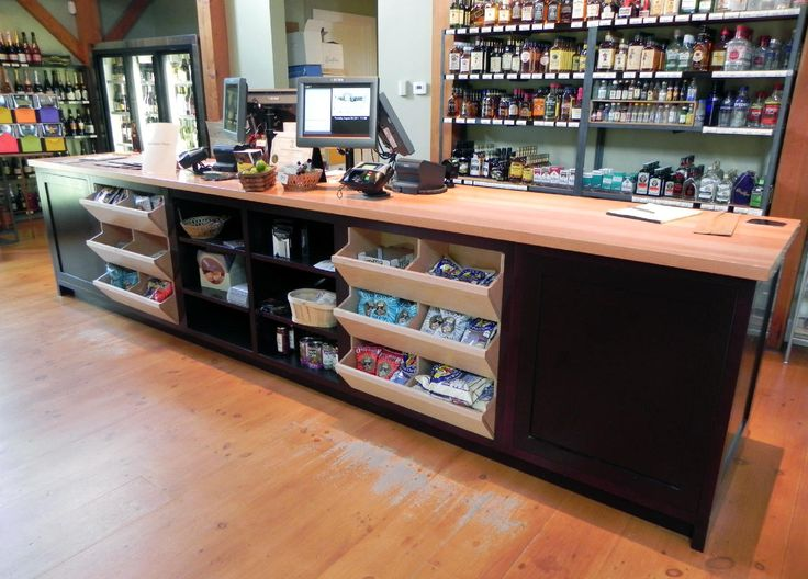 Retail Cash Wrap work ideas in 2019 Retail counter