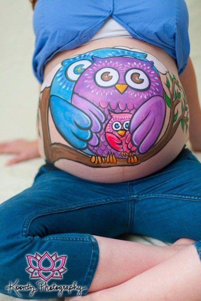Cette tendance qui vient tout droit des Etats-Unis séduit de plus en plus de femmes enceintes. Et pour cause, un ventre de femme enceinte est déjà magnifique...