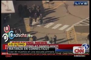 Matanza En Connecticut Casi 30 Muerto Entre Eso 18 Niños #Cnn #Video - Cachicha.com