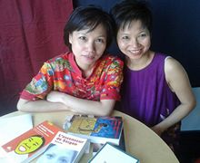 De la découverte de la langue et de la littérature françaises à l'écriture en vietnamien en passant par la traduction en français, les soeurs jumelles Thi et Thuân nous confient l'histoire de leurs travaux d'écriture et de traduction. Pour elles, le français est un vecteur essentiel d'ouverture, une référence qui permet l'accès aux textes vietnamiens.