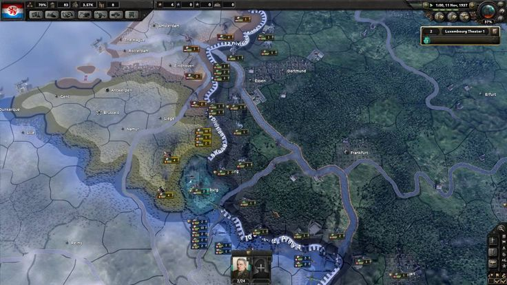Hearts of Iron IV - Luxembourg Survival - Part 3