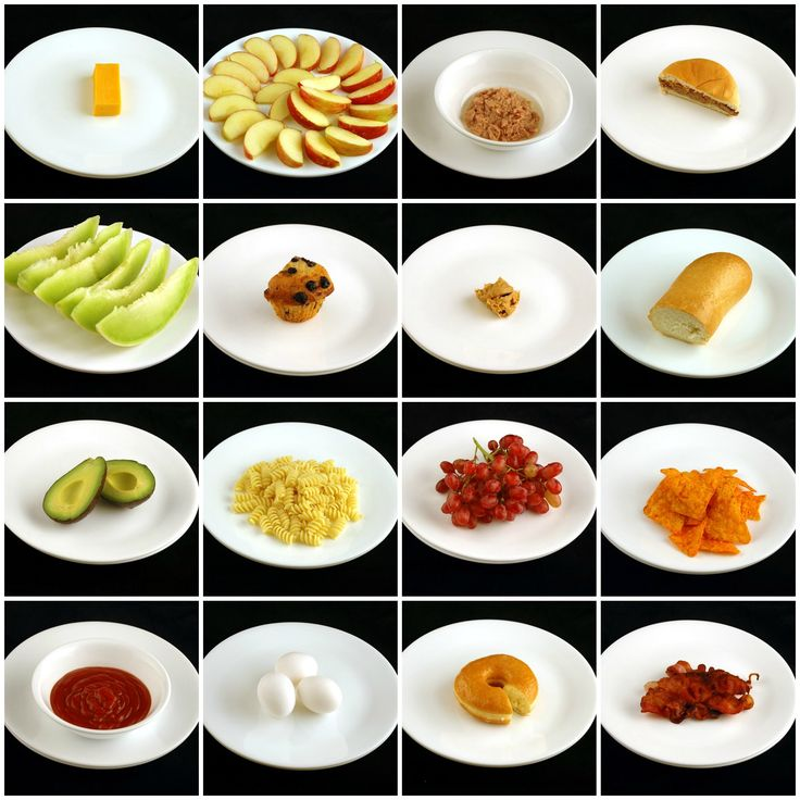"""here's how 200 calories look like: """" From left to right, top to bottom, we have: medium cheddar cheese, sliced apples, canned tuna packed in oil, Jack in the Box cheeseburger, honeydew melon, blueberry muffin, peanut butter, French sandwich roll, avocado, cooked pasta, grapes, doritos, tomato ketchup, eggs, bagel, and fried bacon."""" source: imgur.com"""