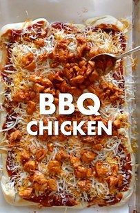 Barbecue Chicken Pizza Dippers - Ash made for her Christmas Party and they were amazing