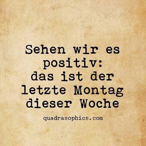 #Quadrasophics #düsseldorf #bilddestages #sprüche #lustigesprüche #humor #montag #wochenanfang
