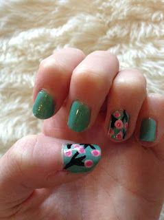 Sweet As Mae : Spring Cherry Blossom Nail Art // Sweet As Mae