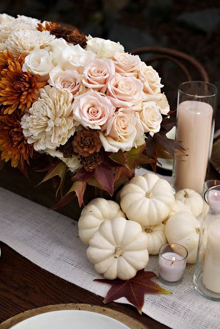 Autumn Sophistication Wedding Inspiration | Heavenly Blooms